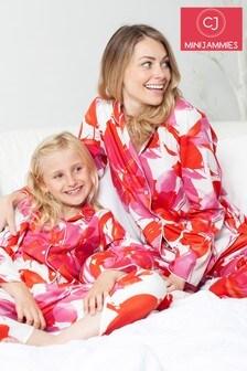 Пижамный комплект с цветочным принтом Minijammies