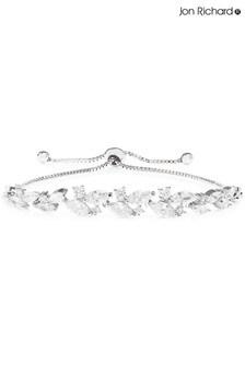 Jon Richard Crystal Navette Station Toggle Bracelet