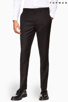 Topman Skinny Suit Trousers