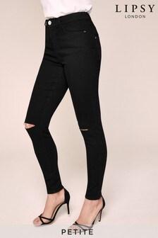 Lipsy Petite - Kate skinny jeans met halfhoge taille