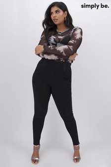 Simply Be Control Shaper Jeggings