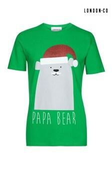London Co Men's Organic Christmas T-Shirt