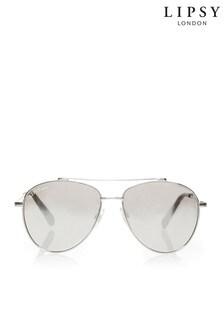 Lipsy Smoked Lense Aviator Sunglasses