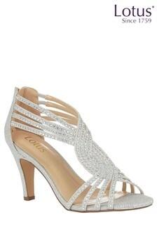 Lotus Diamanté Heeled Occasion Shoes