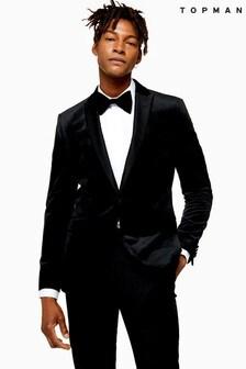Topman Tailored Velvet Jacket