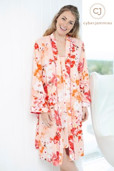 Cyberjammies Darcie Botanical Short Robe