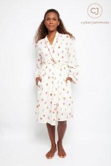 Cyberjammies Sophia Strawberry Print Short Robe