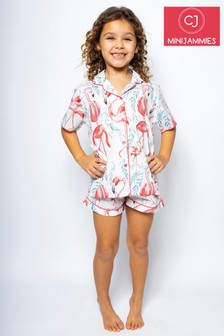 Minijammies Grace Flamingo Shorty Set