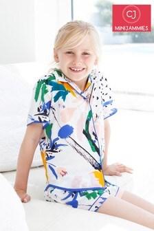 Комплект с шортами и абстрактным принтом Minijammies Alicia