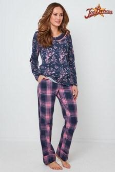 Пижамный комплект с брюками в клеткуJoe BrownsDream Away
