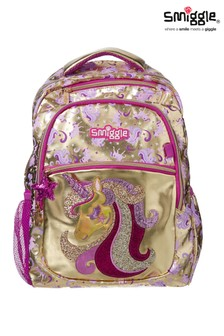 Smiggle Gold Backpack