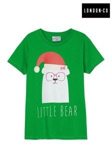 London Co Kids Little Bear Family Organic T-Shirt