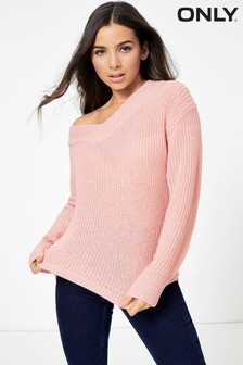 Only Knitted V neck Jumper