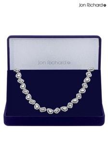 Jon Richard Bridal Allway Halskette mit unterschiedlich designten Kristallformen