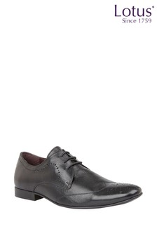Lotus Leather Brogue Lace Formal Shoe