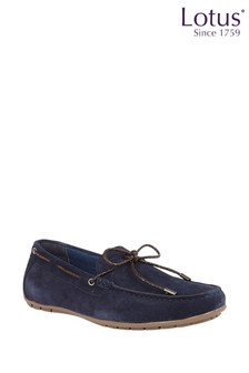 Lotus Suede Casual Driving Shoes