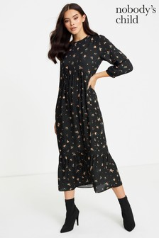 Nobody's Child Maxi Dress
