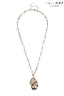 Freedom Abstract Pendant Necklace