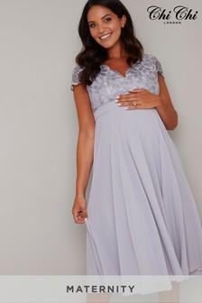 שמלת הריון שלChi Chi London דגם Nada