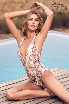 بذلة سباحة من Abbey Clancy x Lipsy