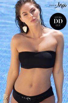 قطعة سباحة علويةباندو بدون حمالات بسلك سفليSol Beach منPour Moi