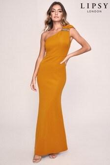 Lipsy Belinda Bow Maxi Dress