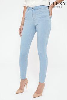 Skinny džínsy Lipsy Kate so stredne vysokým pásom