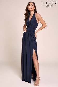 Lipsy Halter Maxi Dress