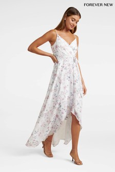 Forever New Cami Wrap Floral Maxi Dress