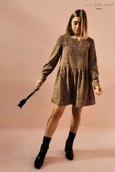 Never Fully Dressed Leopard Print Mini Dress