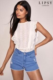Lipsy - Shorts di jeans