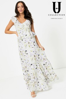 Forever Unique Maxi Floral Dress