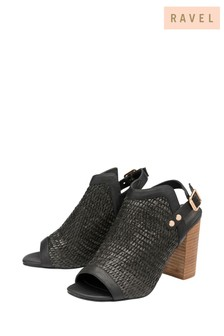Ravel Sandalen mit gewebtem Design vorne