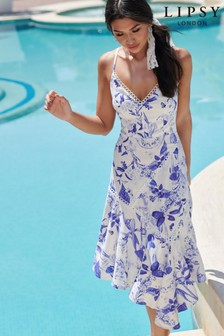 Lipsy Printed Midi Dress
