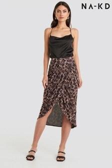 חצאית רשת מודפסת שלNA-KD