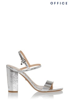 Office Hollyhock Two Part Block Heel Sandals