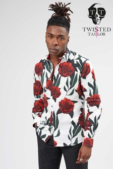 Twisted Tailor Knarley Roses Shirt