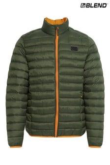 Blend Long Sleeves Padded Coat
