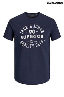 Jack & Jones スローガン Tシャツ