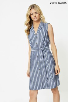 Vero Moda Sleevless Shirt Dress