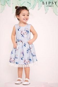 فستان مطبوع قصير بناتي منLipsy