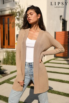 Lipsy Knitted Pleated Cardigan