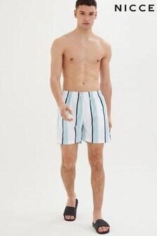 NICCE Stripe Swim Shorts