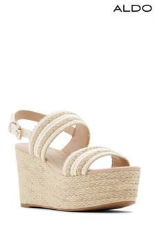 Aldo Embellished Espadrille Wedge