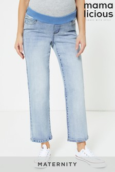 Mamalicious Mom-Jeans, Umstandsmode