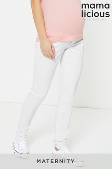 Mamalicious Maternity Over The Bump Skinny Jeans
