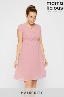 Mamalicious Maternity Occasionwear Nursing Function Dress
