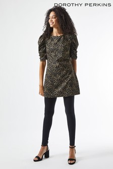 Dorothy Perkins Animal Lurex Tunic