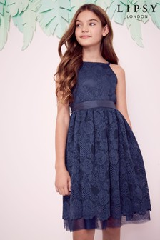 Lipsy Girl Lace Occasion Dress