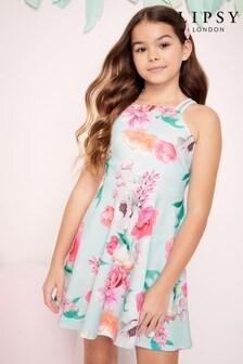 Lipsy Neopren-Kleid mit doppelten Trägern für Mädchen